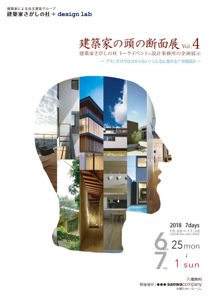第4回 建築家 頭の断面展 開催